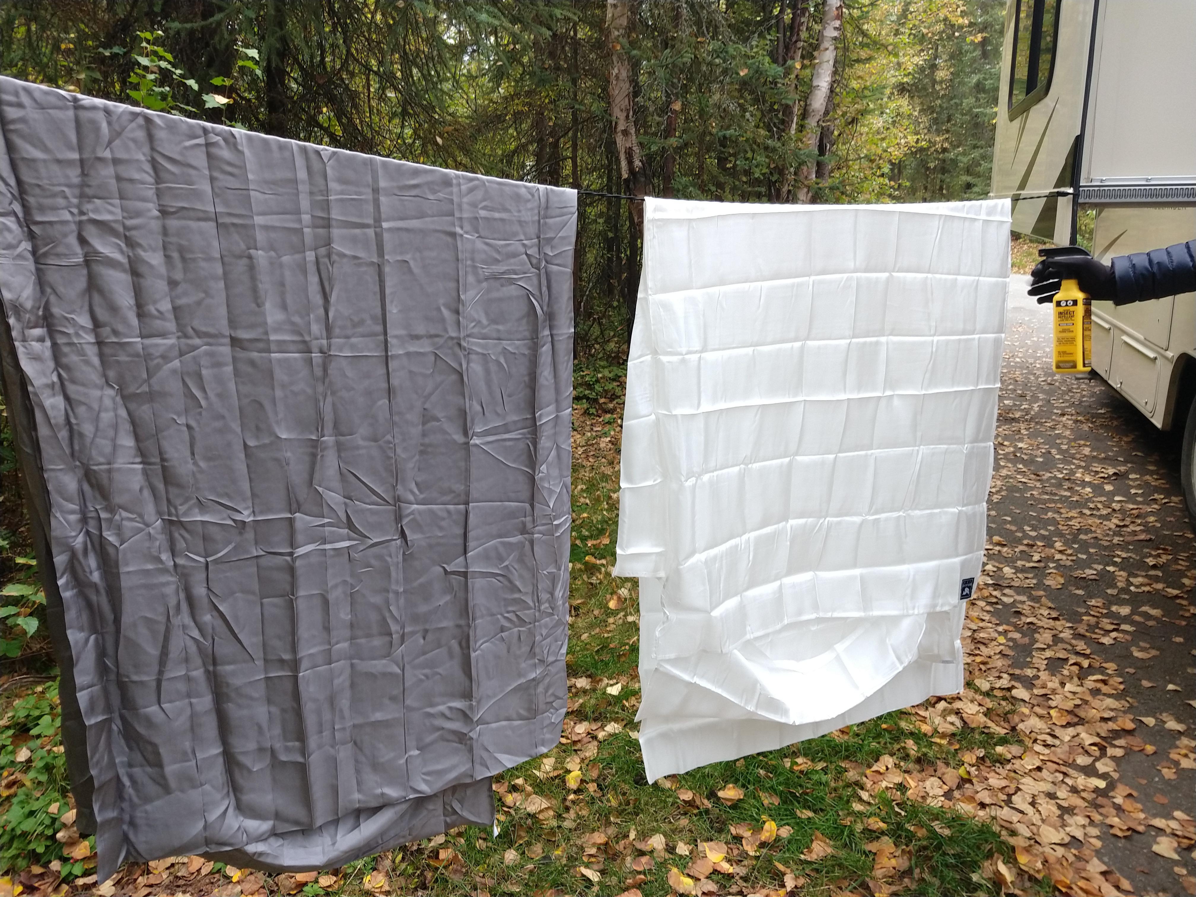 Traitement anti-moustique des draps Braveera