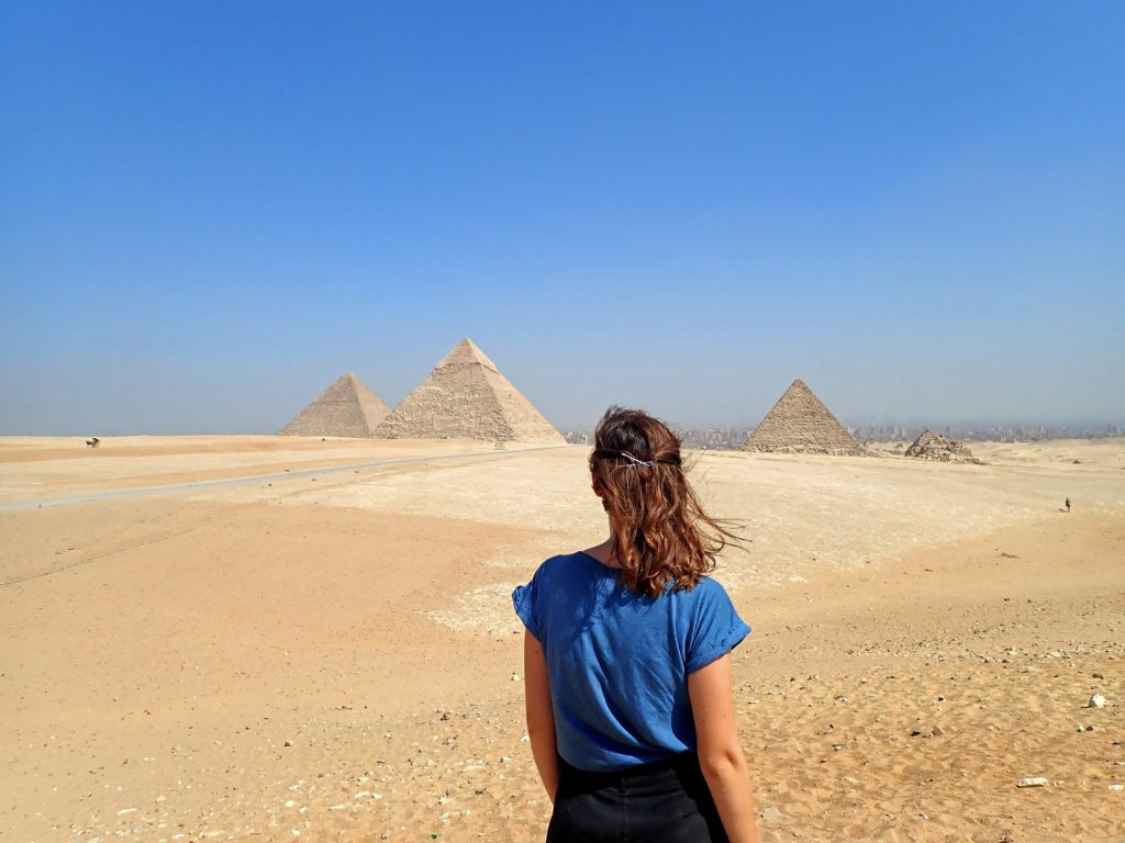Pyramids of Giza - Egypt